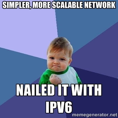 Success with IPv6